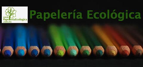 Papelería ecológica